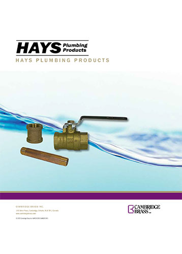 HAYS Plumbing Products