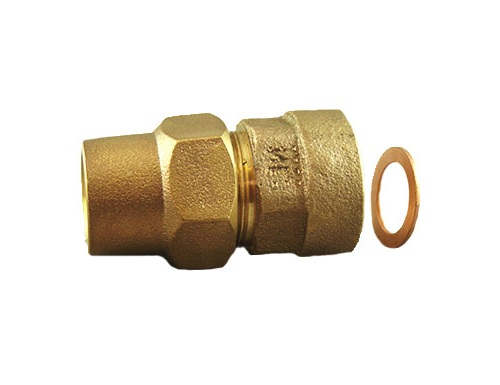 NO-LEAD GRIPJOINT x FEMALE COPPER FLARE ADAPTORS