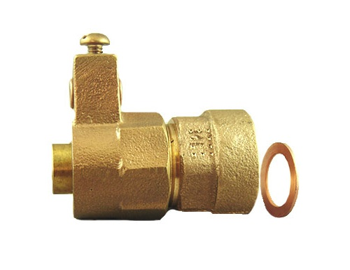 NO-LEAD KITEC ELECTRICAL TAIL x FEMALE COPPER FLARE ADAPTOR