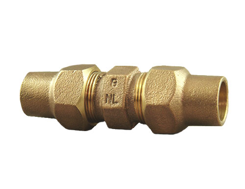 NO-LEAD HAYSTITE X HAYSTITE FULL BORE COUPLING