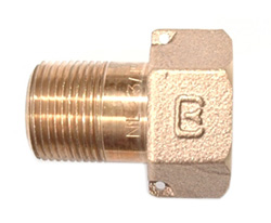 NO-LEAD METER SWIVEL NUT X MIP
