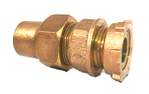 NO-LEAD COPPER FLARE x YOKE STRAIGHT COUPLINGS