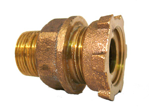 NO-LEAD MALE x YOKE STRAIGHT COUPLINGS