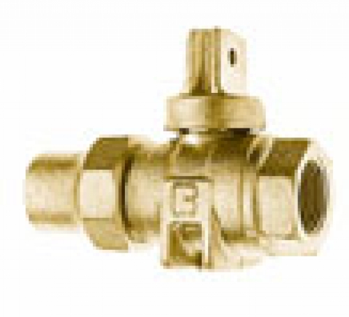 NO-LEAD HAYSTITE X FIP OPEN RIGHT BALL VALVE CURBSTOP