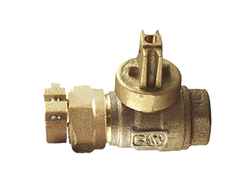 NO-LEAD CAMPAK X FIP FULL PORT BALL VALVE CURBSTOP
