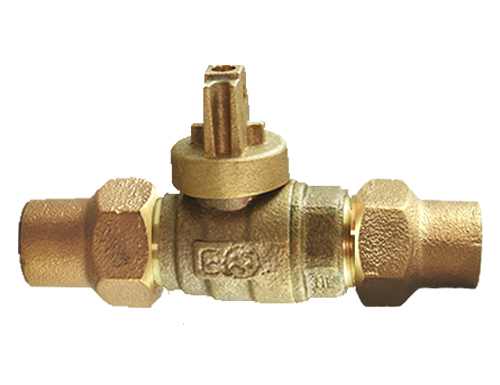 NO-LEAD CF X CF FULL PORT BALL VALVE CURBSTOP