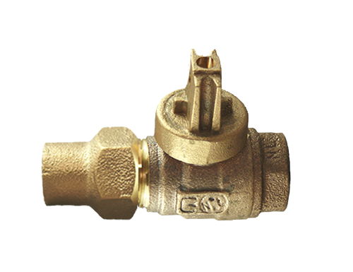 NO-LEAD CF X FIP FULL PORT BALL VALVE CURBSTOP
