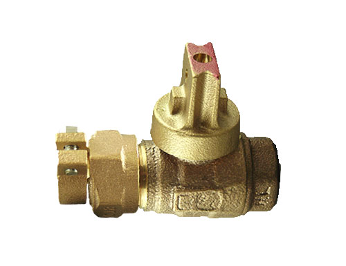 NO-LEAD CAMPAK X FIP OPEN RIGHT BALL VALVE CURBSTOP