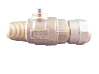 NO-LEAD AWWA X CB COMPRESSION BALL VALVE