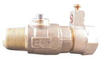 NO-LEAD AWWA X CB COMPRESSION ELECTRICAL BALL VALVE