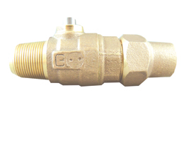 NO-LEAD AWWA X HAYSTITE BALL VALVE