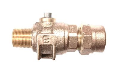NO-LEAD MIP X CB COMPRESSION BALL VALVE CORP MAIN STOP