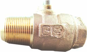 NO-LEAD AWWA X FIP BALL VALVE CORP MAIN STOP