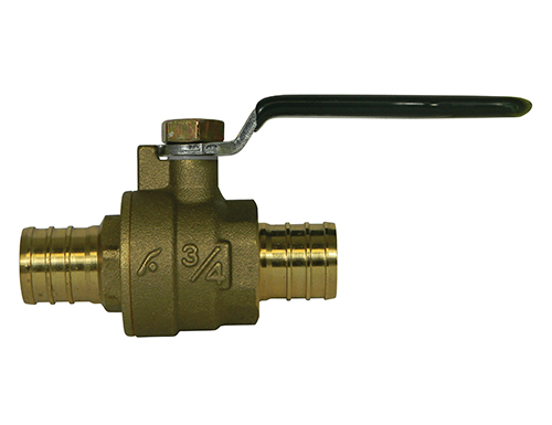 72030P SERIES PEX BALL VALVE HEAVY PATTERN - NO-LEAD