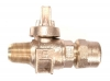 NO-LEAD AWWA X CB COMPRESSION BALL VALVE CORPORATION WITH TEEHEAD