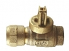 NO-LEAD CB COMPRESSION X FIP FULL PORT BALL VALVE CURBSTOP