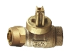 NO-LEAD KITEC X FIP FULL PORT BALL VALVE CURBSTOP