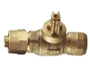 NO-LEAD KITEC X CB COMPRESSION FULL PORT BALL VALVE CURBSTOP WITH DRAIN