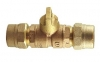 NO-LEAD CB COMPRESSION X CB COMPRESSION REDUCED PORT BALL VALVE CURBSTOP