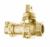 NO-LEAD CAMPAK X FIP MINNEAPOLIS BALL VALVE CURBSTOP WITH DRAIN