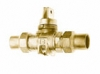 NO-LEAD CF X CF MINNEAPOLIS BALL VALVE CURBSTOP