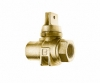 NO-LEAD FIP X FIP MINNEAPOLIS BALL VALVE CURBSTOP WITH DRAIN