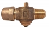 NO-LEAD AWWA X CB COMPRESSION PLUG VALVE CORP MAIN STOP