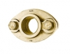 NO-LEAD METER FLANGE X FIP BRASS METER KIT